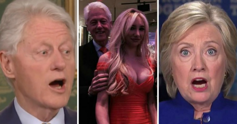 Hillary Freaks As Bill's Sexcapades Come Back To Bite Them — Investigation Looming