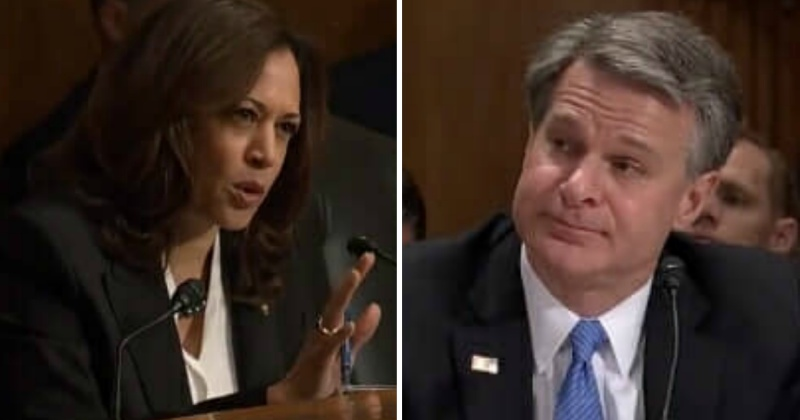 Kamala Mouths Off On Senate Floor, Gets Wrecked By FBI Director Christopher Wray