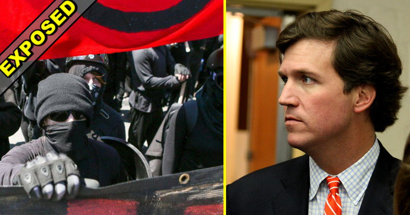Antifa Attacked Tucker Carlson, Got Hit With Consequence That Outrages Them More