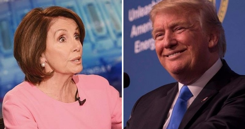 Pelosi About To Board Plane For Overseas Trip — Trump Gets Last Laugh