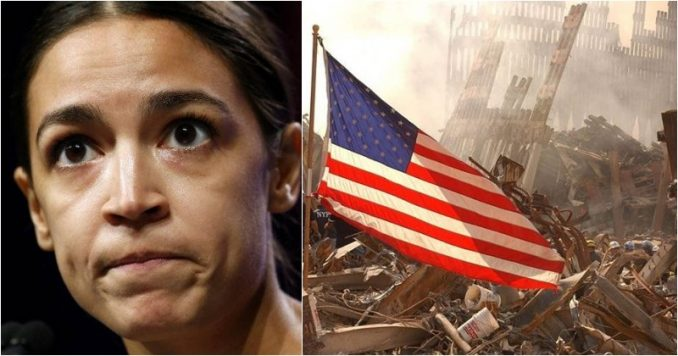aoc  us should not have used force against 9  11 attackers