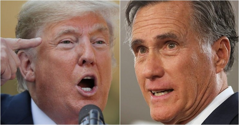 Romney Votes To Stop Trump's National Emergency Order, POTUS Makes Him Regret It