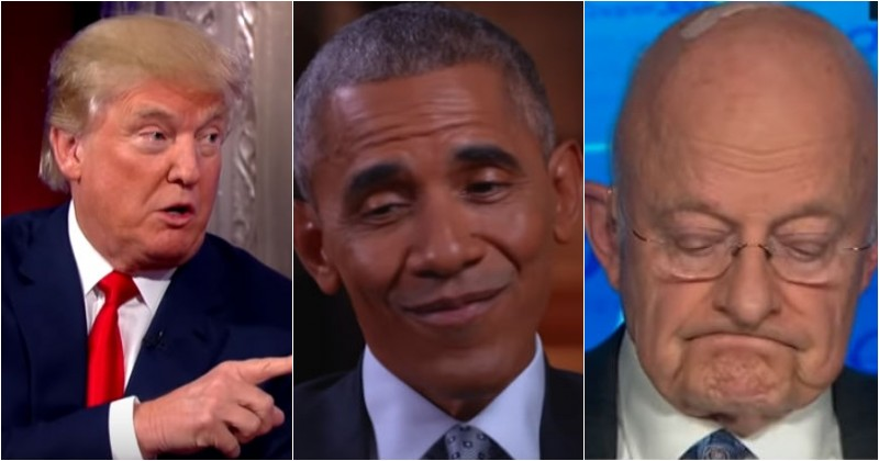 Opinion | Obama Busted: Fearful Clapper Confesses On Live TV Barack 'Told Us To Do' It