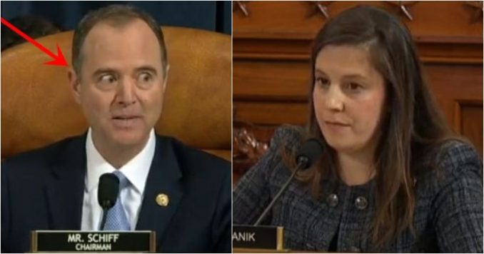 Schiff Tries To Destroy Rep Stefanik Who Kicked His A